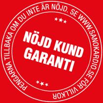 Nöjd kund-garanti